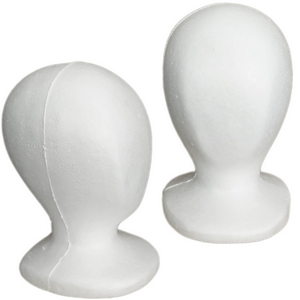 Child Size Styrofoam Mannequin Head