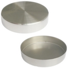 Replacement Brushed Chrome 4'' Round Metal Neck Cap for Dress Forms (fits MN-113/MN-603)